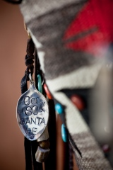 My hang tag on my line of handbags Ooo So Santa fe. photo: Jane Bernard